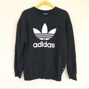 Adidas Logo Crew Neck Sweatshirt Pullover XS/S